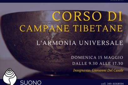 Corso Base di Campane Tibetane a Bologna!