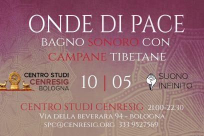 ONDE DI PACE: bagno sonoro e presentazione nuovo cd al Centro Cenresig