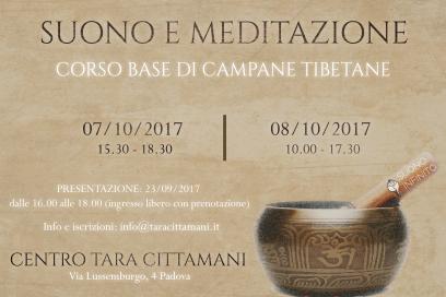 7-8 Ottobre 2017: CORSO DI CAMPANE TIBETANE A PADOVA!