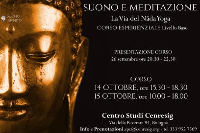 14-15 ottobre: SUONO E MEDITAZIONE: La Via del Nada Yoga – corso base!