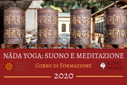 """""""NADA YOGA:SUONO E MEDITAZIONE"""" FORMAZIONE 2020!"""