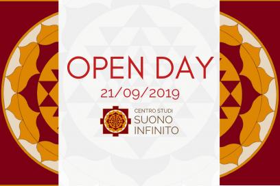 21/09: OPEN DAY DEL CENTRO STUDI SUONO INFINITO!