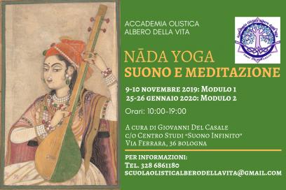 NADA YOGA: SUONO E MEDITAZIONE 2019/20 – Seminari